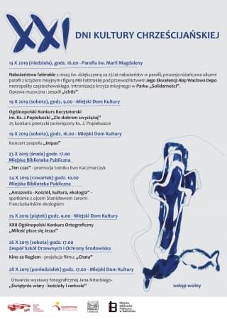 XXI Dni Kultury Chrześcijańskiej w Radomsku