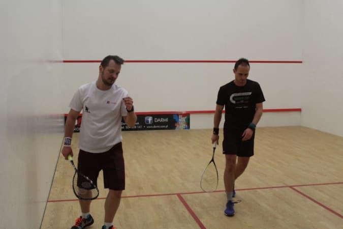 Zagrali w squasha