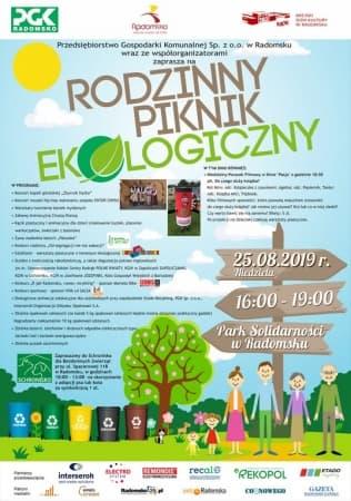 Zaproszenie na rodzinny piknik ekologiczny w parku Solidarności
