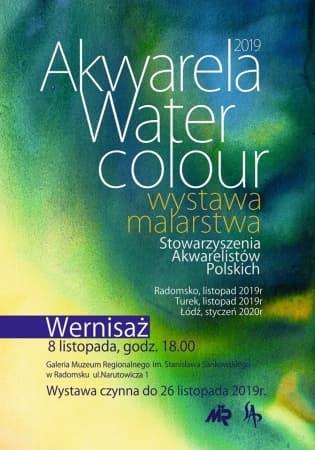 """Zaproszenie na wernisaż wystawy malarstwa """"Akwarela Water Colour"""""""