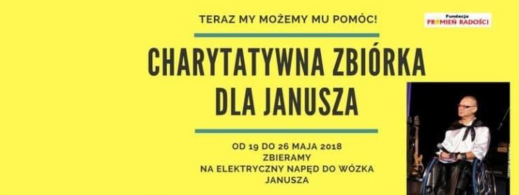 Zbiórka dla Janusza Plewińskiego