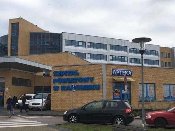 Z powodu bakterii kolejny oddział szpitala w Radomsku zamknięty