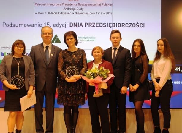 ZSE podwójnym laureatem na Gali Przedsiębiorczości w Warszawie