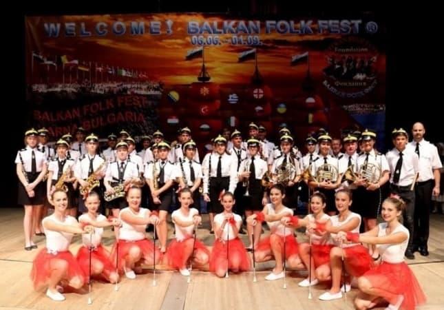 Zwycięstwo Orkiestry Dętej EXPRESJA na XXV Balkan Folk Fest