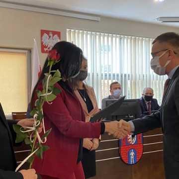 Pracownicy powiatowych szkół nagrodzeni
