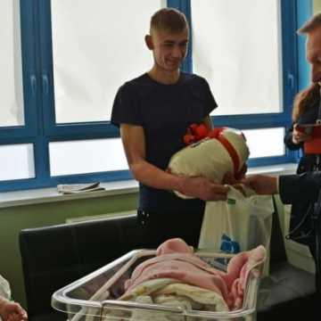 Pierwsze noworoczne dzieci w szpitalu w Radomsku