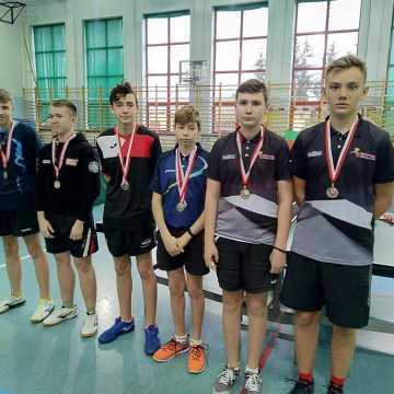 Grad medali radomszczańskich tenisistów