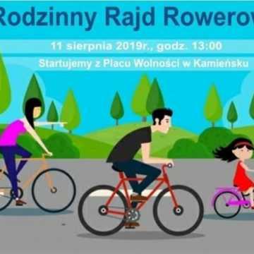 Zaproszenie na Rodzinny Rajd Rowerowy w Kamieńsku