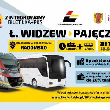 Bilet zintegrowany ŁKA + PKS