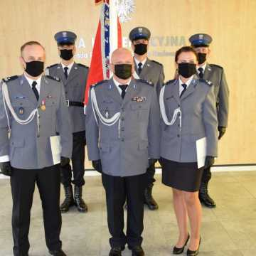 Policjanci z Radomska świętowali. Były odznaczenia i awanse