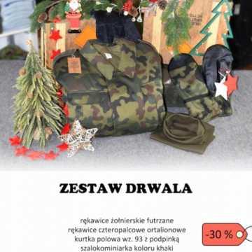 Agencja Mienia Wojskowego sprzedaje świąteczne zestawy prezentów