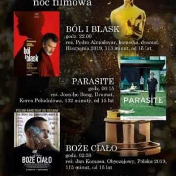 MDK w Radomsku zaprasza na Oscarową Noc Filmową
