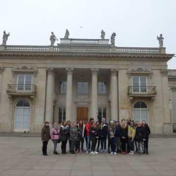 Uczniowie ZSDiOŚ zwiedzali stolicę