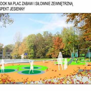 Piotrków Tryb.: park Belzackiego przejdzie metamorfozę