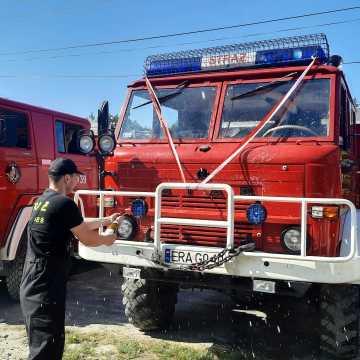 Piknik strażacki organizowany przez OSP Sucha Wieś