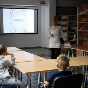 Warsztaty z nauki szybkiego czytania w bibliotece