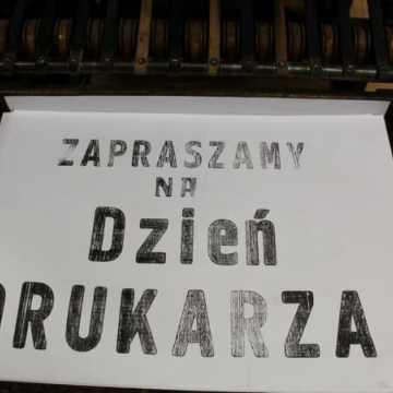 Radomszczański Dzień Drukarza w Drukarni Braci Kamińskich
