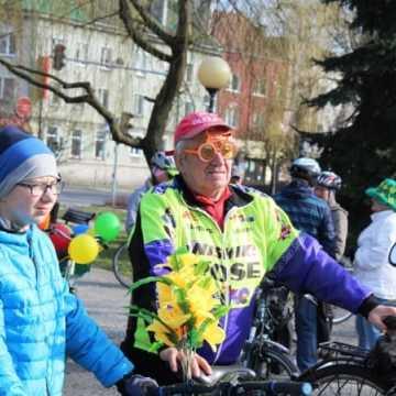 Powitali wiosnę na rowerach