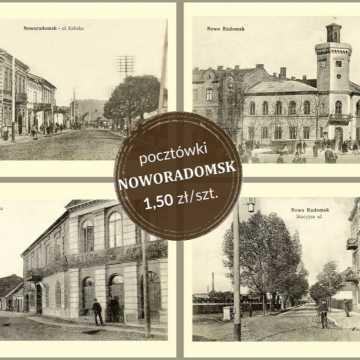 Pocztówki z Noworadomskiem za 1,5 zł