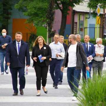 Borys Budka zachęcał w Radomsku do oddania głosu na kandydata PO