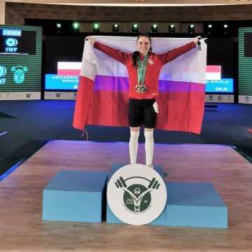 Oliwia Drzazga z Radomska wicemistrzynią świata w podnoszeniu ciężarów