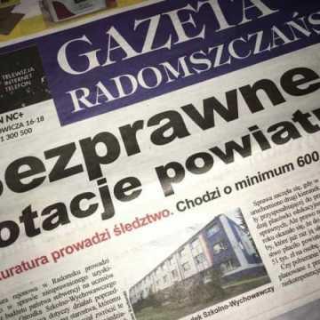 Gazeta Radomszczańska: Bezprawne dotacje powiatu