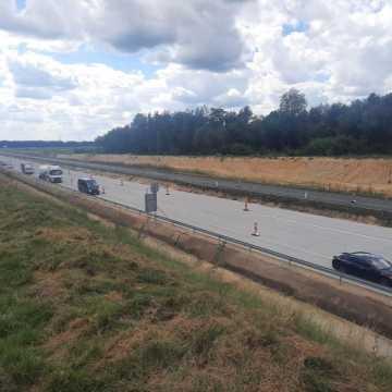 Ograniczenia w ruchu na A1 na odcinku Piotrków Tryb. – Kamieńsk
