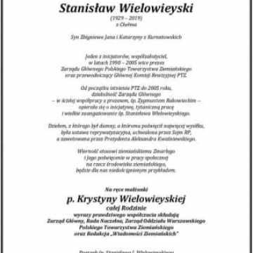 Stanisław Wielowieyski (1929-2019)