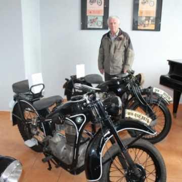 Wystawa moto-klasyków otwarta