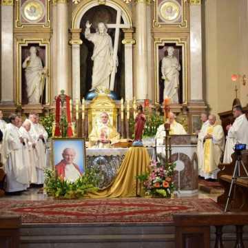 Msza św. w setną rocznicę urodzin papieża Polaka