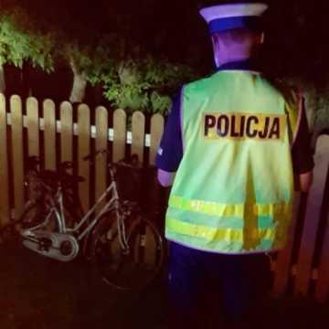 Gm. Gidle: pijany kierowca potrącił rowerzystę i uciekł