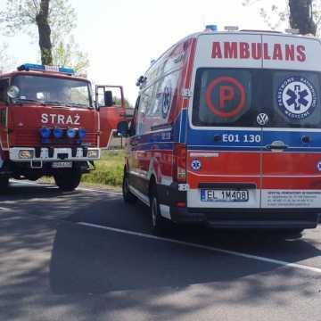 [AKTUALIZACJA] Wypadek w Woli Jedlińskiej. Są utrudnienia!