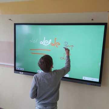 W PSP 1 w Radomsku zamontowano monitor interaktywny