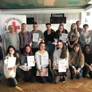 Etap rejonowy Olimpiady Promocji Zdrowego Stylu Życia PCK w Radomsku