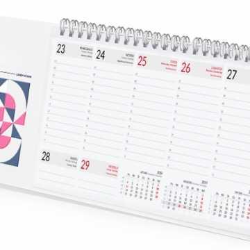 Kalendarze spiralowane na 2020 rok. Zobacz najciekawsze wzory