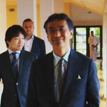 Ambasador Japonii w DOJO