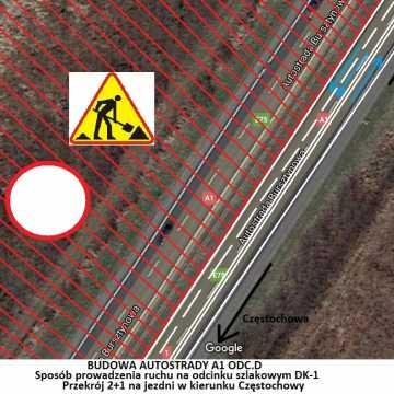 Kierowcy pojadą 5 km po nowej nitce autostrady A1