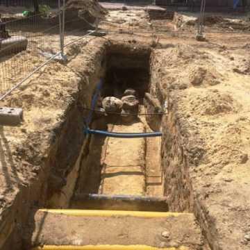 Prace przy przebudowie ulicy Reymonta idą naprzód
