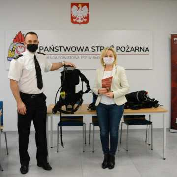 Aparaty powietrzne dla strażaków od OSM Radomsko