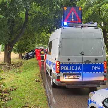 Śmiertelny wypadek w Małej Wsi w gminie Żytno. Nie żyje 53-letni kierowca osobówki