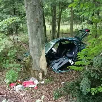 Dwie osoby ranne w wypadku w miejscowości Celina