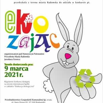 """""""Ekozając"""" – nowy konkurs PGK dla przedszkolaków"""