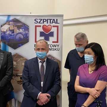 Nowoczesny sprzęt do walki z COVID-19 w Szpitalu Powiatowym w Radomsku