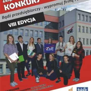 """Konkurs ZSE: """"Bądź Przedsiębiorczy -  Wypromuj Firmę i Zawód"""""""
