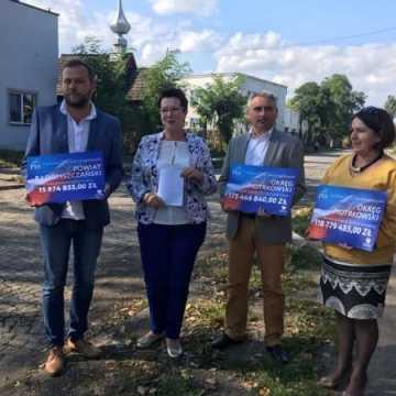 Poseł Anna Milczanowska o przyznanych funduszach na drogi w powiecie radomszczańskim
