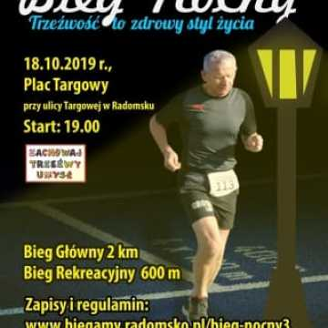 W październiku 3. Bieg Nocny w Radomsku