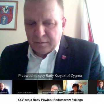 Historyczny spór zdominował sesję Rady Powiatu Radomszczańskiego