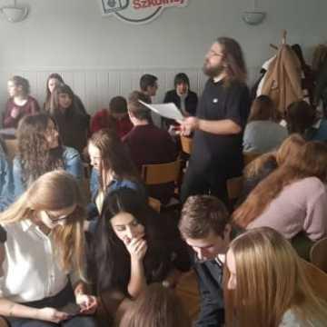 Warsztaty filmowe dla maturzystów w I LO w Radomsku