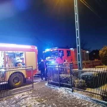 Sadza w kominie przyczyną pożaru w  domu w Wielgomłynach