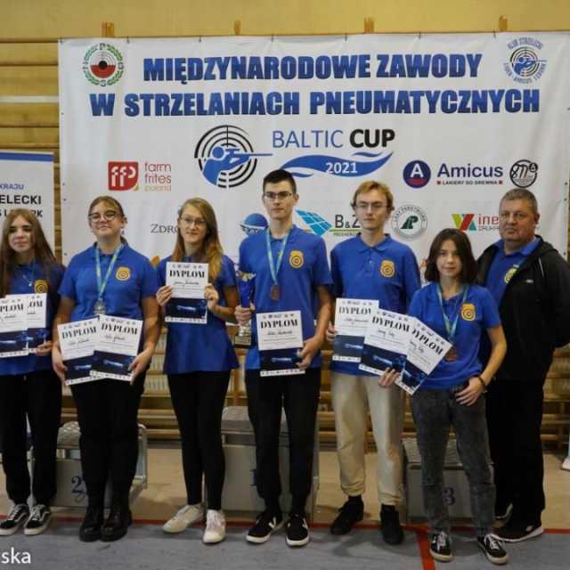 """Medale strzelców """"10-tki"""" Radomsko na Baltic Cup 2021"""